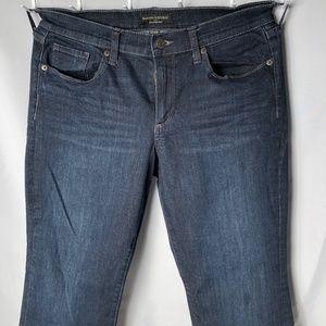 Banana Republic Slim Bootcut Stonewash Jeans